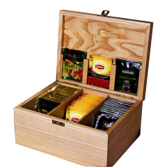 Шкатулки для коллекций чая